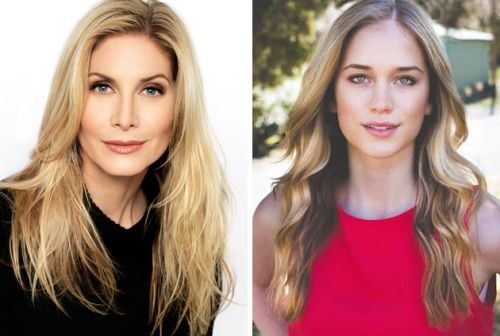 Elizabeth Mitchell and Elizabeth Lail