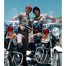 Larry Wilcox and Erik Estrada