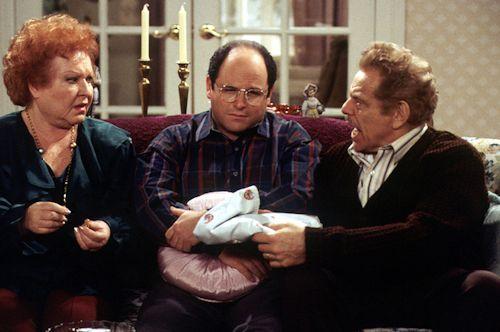 Seinfeld - Estelle Harris, Jason Alexander and Jerry Stiller