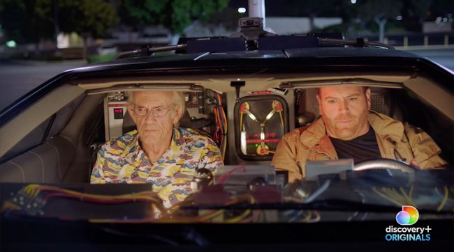 Expedition: Back to the Future - Josh Gates and Christopher Lloyd