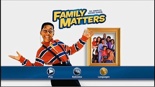 Family Matters - The Complete Second Season