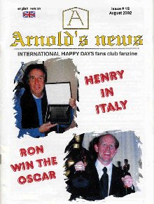 Arnold's News - International Happy Days Fan Club Fanzine