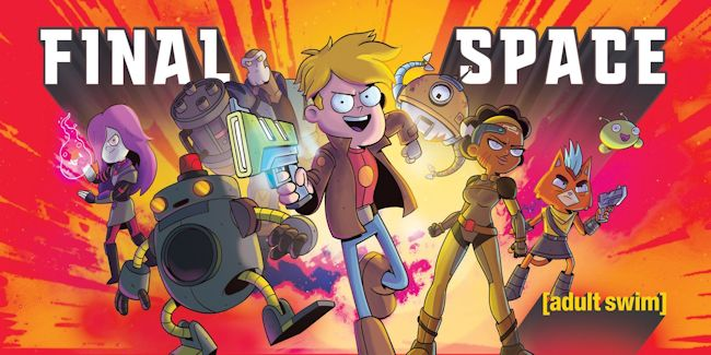 SitcomsOnline com News Blog: Final Space Returns for Season 2 But on