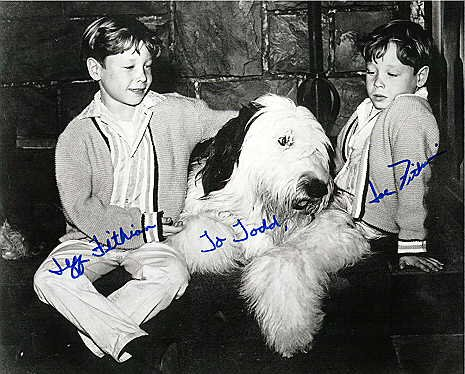 Jeff and Joe Fithian with Ladadog (1965)
