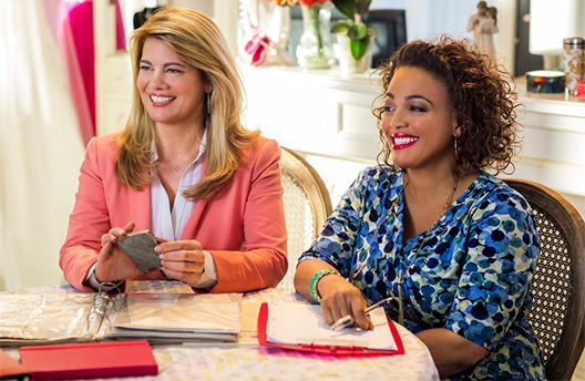 Lisa Whelchel and Kim Fields in For Better or For Worse