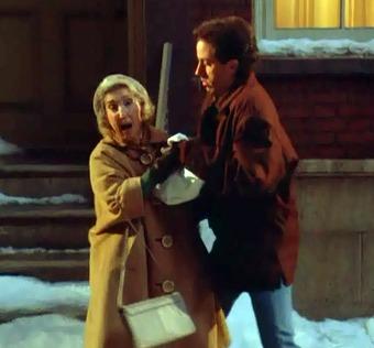 Frances Bay on Seinfeld