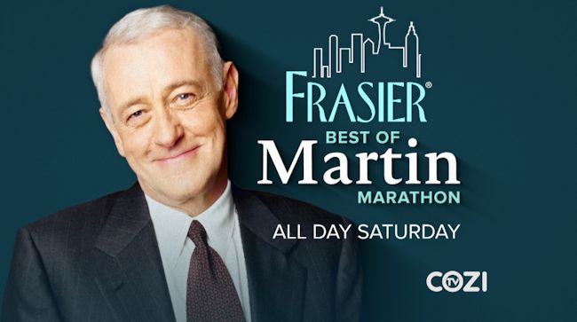 Frasier Best of Martin Marathon - COZI TV