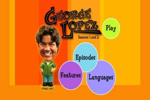 George Lopez - The Complete First and Second Seasons DVD Menu