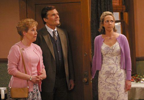 Georgia Engel, Fred Willard and Monica Horan