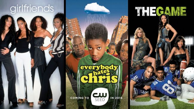 Girlfriends, Everybody Hates Chris and The Game on CW Seed
