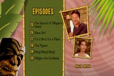 Gilligan's Island - The Complete Third Season DVD Menu
