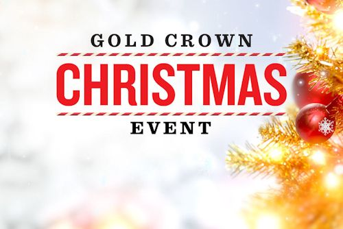 Gold Crown Christmas Event