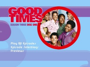 Good Times - Season 3 DVD Menu