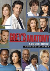 Grey's Anatomy - The Complete Third Season Seriously Extended