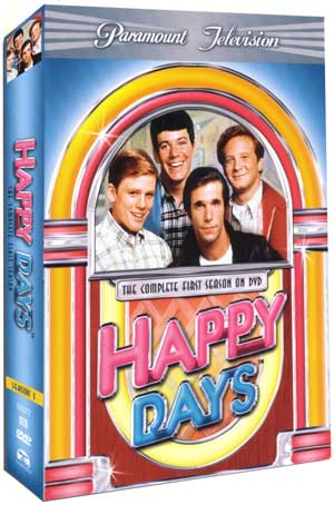 Happy Days - Season 1 DVD Cover Art