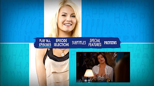 Happy Endings - The Complete First Season DVD Menu