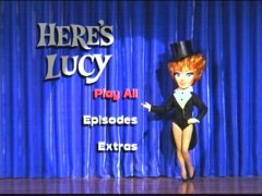 Here's Lucy DVD Menu