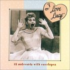 I Love Lucy Square Notecard Wallet