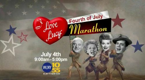 I Love Lucy 4th of July Marathon on WLNY