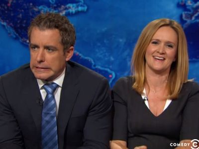 Jason Bee and Samantha Bee - The Daily Show