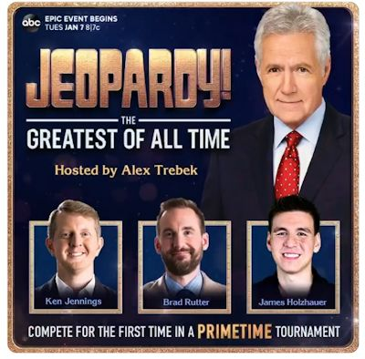 Jeopardy - The Greatest of All Time