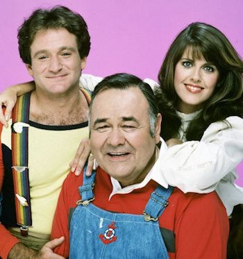 Mork & Mindy Cast