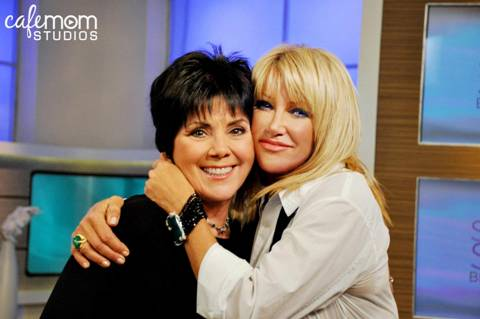 Joyce DeWitt and Suzanne Somers