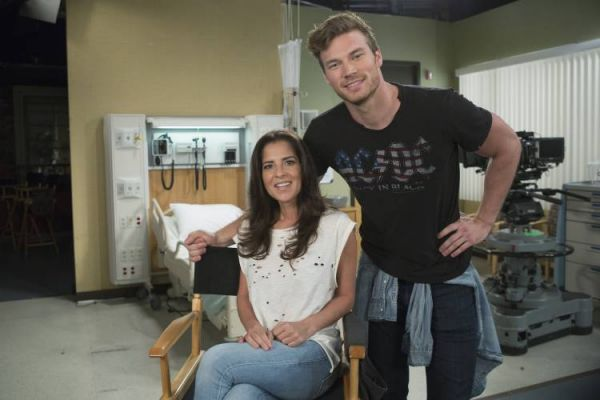 Kelly Monaco and Derek Theler