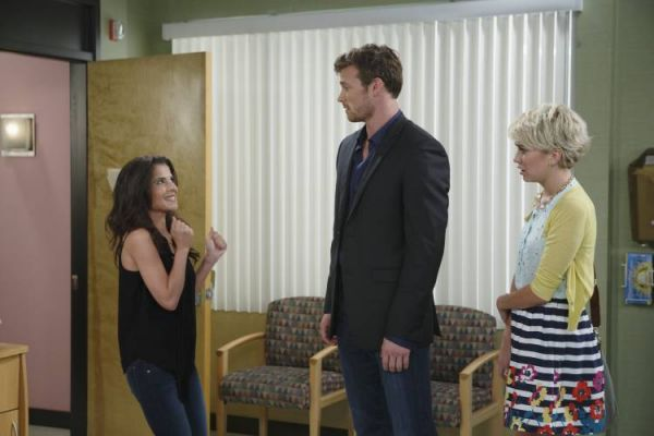Kelly Monaco, Derek Theler and Chelsea Kane
