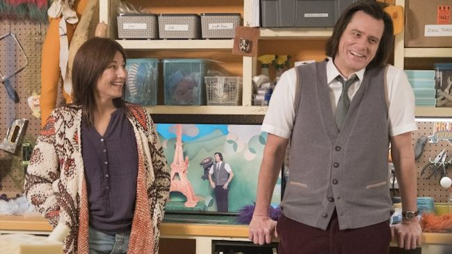 Kidding - Catherine Keener and Jim Carrey