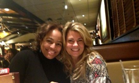 Kim Fields and Lisa Whelchel