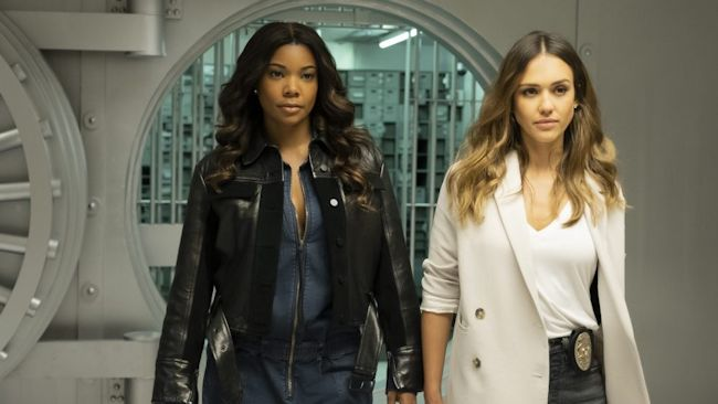 L.A.'s Finest - Gabrielle Union and Jessica Alba