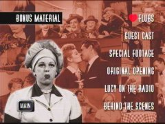I Love Lucy - Season 2 DVD Menu