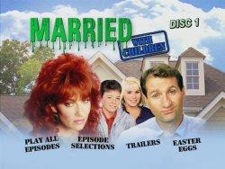 Married with Children Season 2 DVD Menu