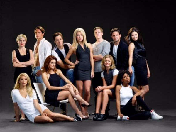 Melrose Place Unauthorized Story Cast