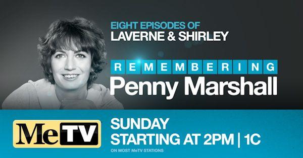 MeTV Remembering Penny Marshall
