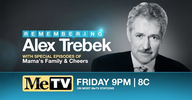 MeTV Remembers Alex Trebek
