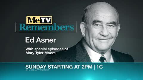 MeTV Remembers Ed Asner