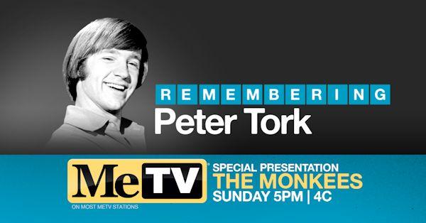 MeTV Remembering Peter Tork