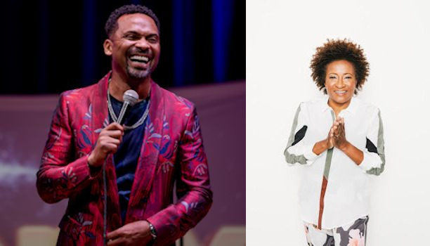 Mike Epps and Wanda Sykes