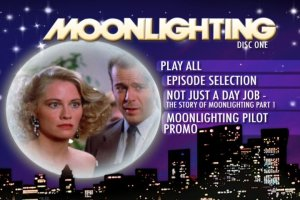 Moonlighting DVD Menu