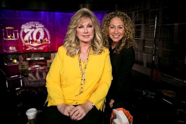 Morgan Fairchild and Katie Daryl - Photo by Renee Silverman