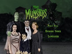 The Munsters Season 1 DVD Menu