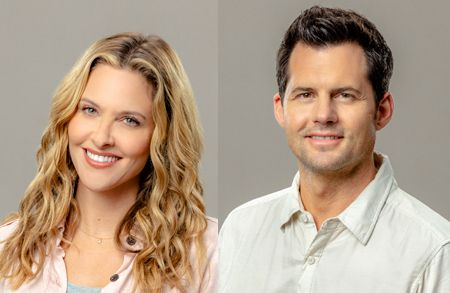 Jill Wagner and Kristoffer Polaha