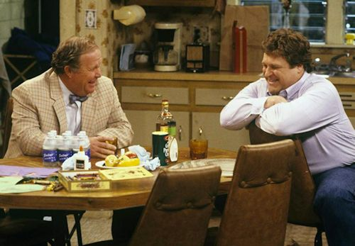 Ned Beatty and John Goodman - Roseanne