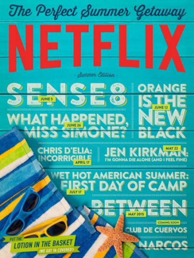 Netflix - The Perfect Summer Getaway