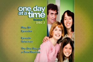 One Day a Time - The Complete First Season Menu