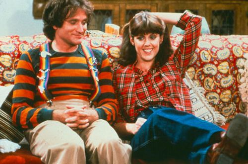 Pam Dawber and Robin Williams - Mork & Mindy