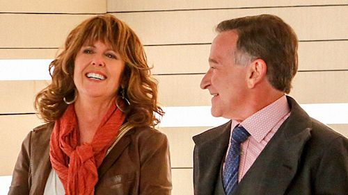 Pam Dawber and Robin Williams in The Crazy Ones