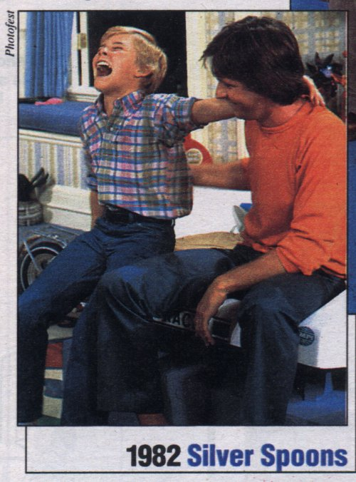 Ricky Schroder and Joel Higgins (1982)